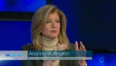 Arianna Huffington Gender Agenda Debate Feb 2010