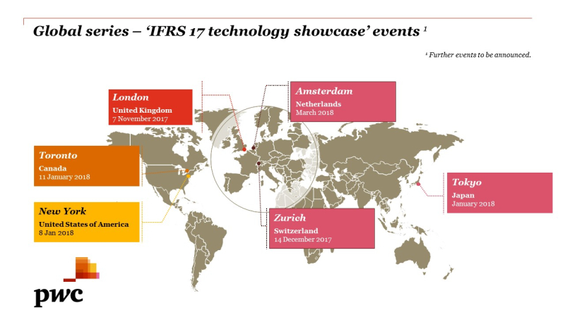 Global Tech Showcase events