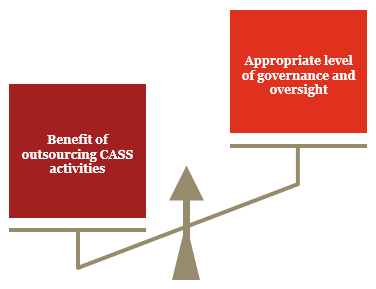 A CASS Reflection - Governance and oversight of CASS activities delegated to other parties